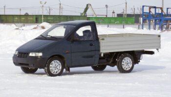«Drom» опубликовал фото ранее неизвестного грузовика ВАЗ-2920 «Lada Надежда»