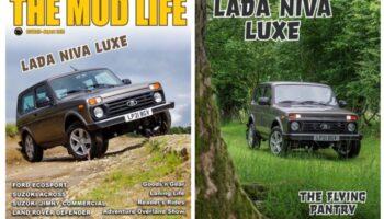 Lada Niva Legend попала на обложку английского журнала о внедорожниках «The Mud Life»