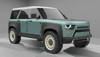Независимый дизайнер Panderlaike представил первые рендеры нового УАЗ «Хантер»