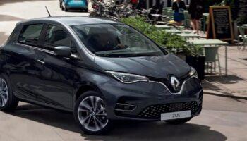 Renault снимет с производства популярный электрокар ZOE в 2024 году