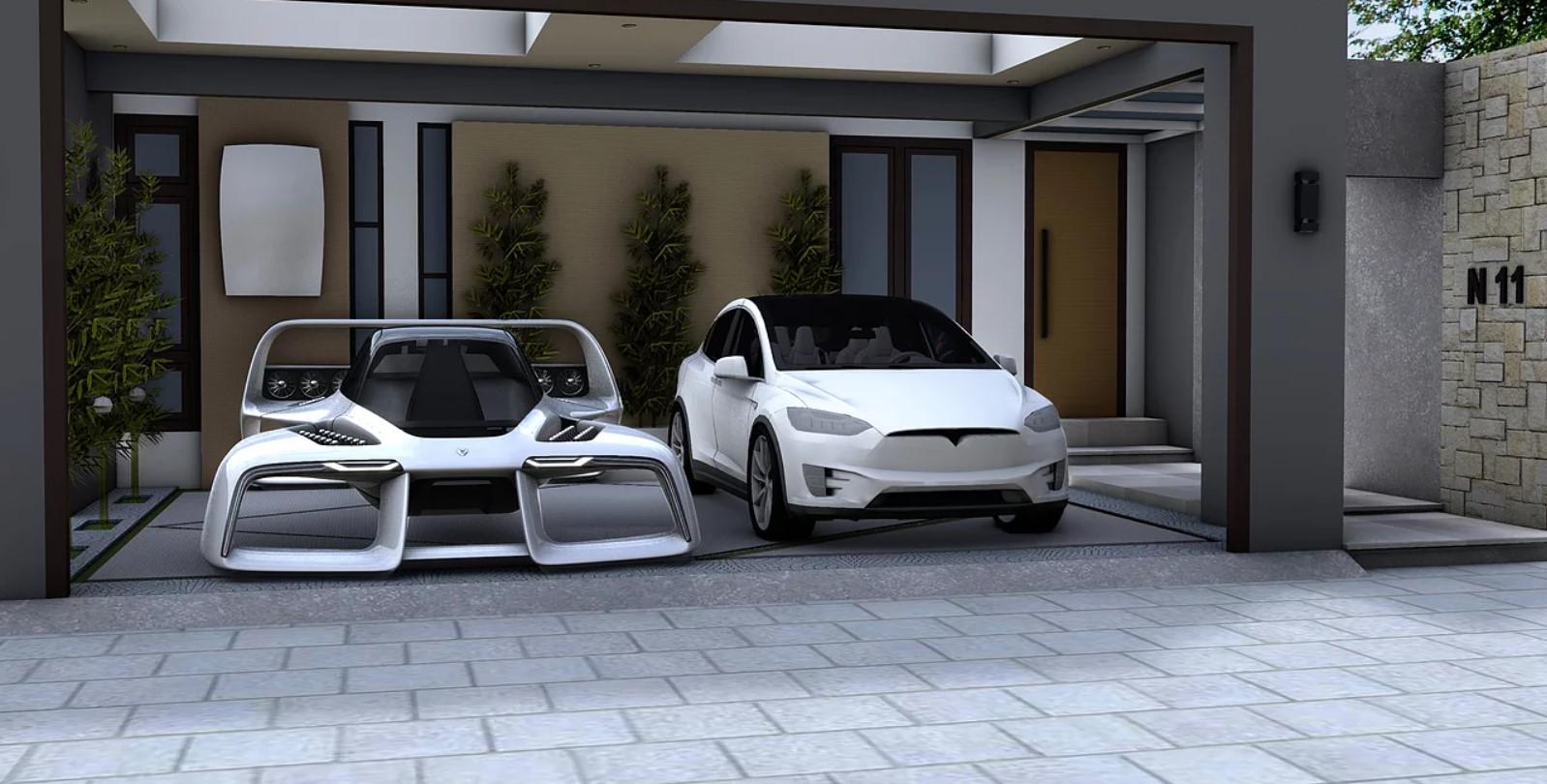 Экс-дизайнер Mazda Салафф запустит в серию летающий гиперкар LEO Coupe