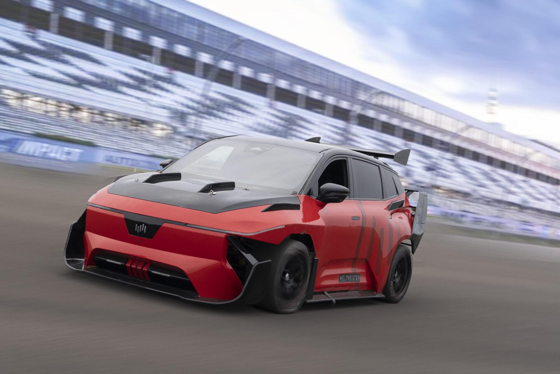 Гоночный электромобиль Weltmeister сможет набрать «сотню» за 1,8 секунды