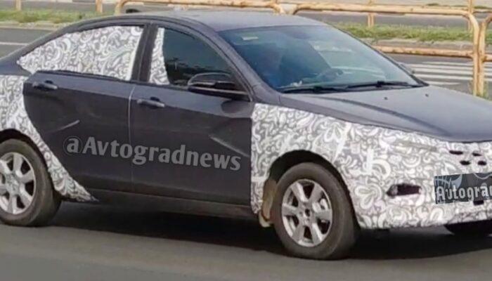 Lada Vesta 2022 получит новый цвет кузова вместо исключенного оттенка «Плутон»