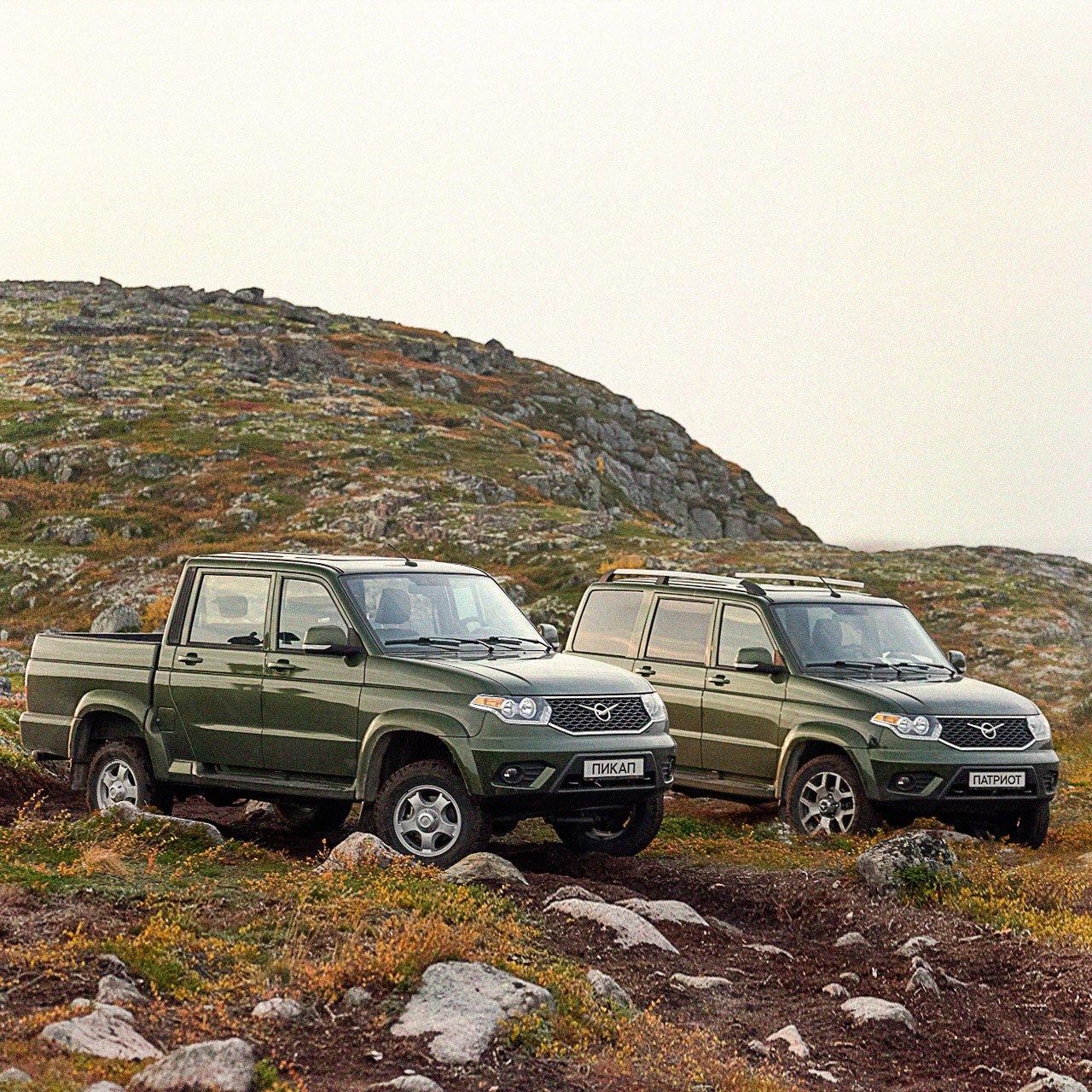 УАЗ в РФ начал продавать биотопливные автомобили «Патриот» и «Пикап»