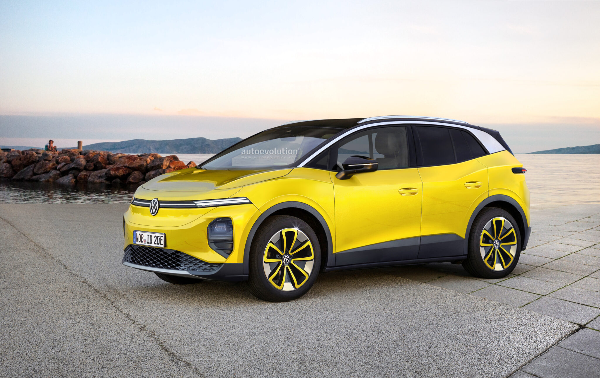 Autoevolution: Бренд Volkswagen выпустит два новых электрических кроссовера до 2025 года