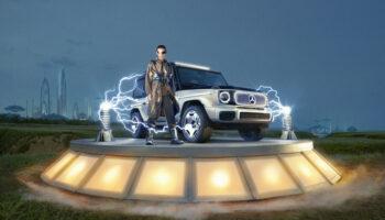 Mercedes-Benz представил электрический концепт-кар «Гелика» EQG