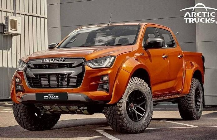 В России начались продажи экстремальной версии пикапа Isuzu D-Max Arctic Trucks