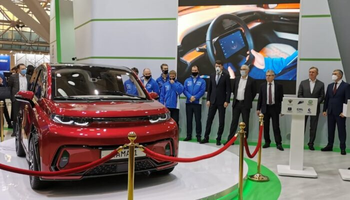 КамАЗ запустит производство электромобиля «КАМА-1» не раньше 2024 года
