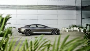 Компания Audi представила электрический концепт Grandsphere в 2021 году