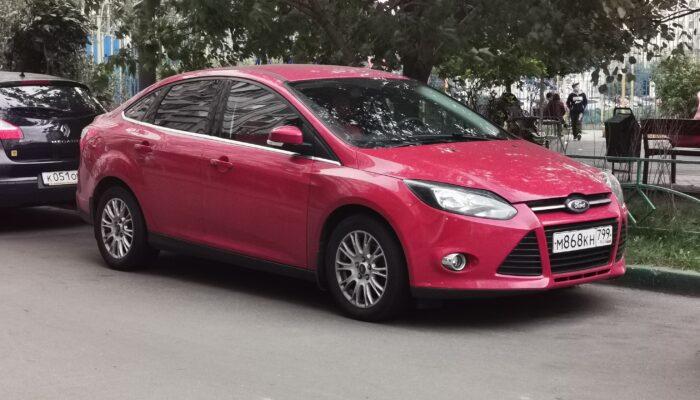 Модель Ford Focus стала самой популярной иномаркой на вторичном авторынке России в 2021 году