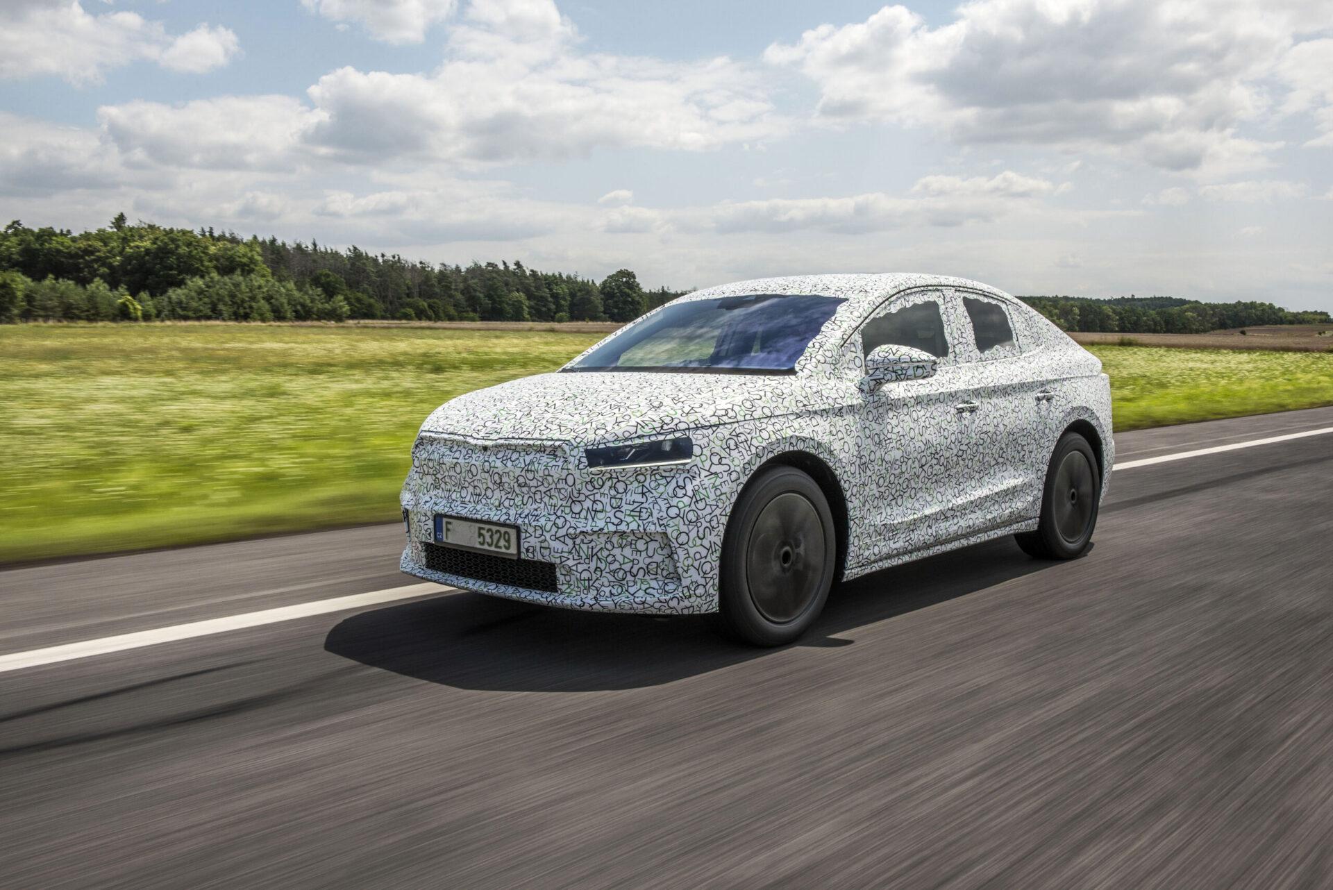 Компания Skoda анонсировала премьеру нового купеобразного кроссовера Skoda Enyaq Coupe iV