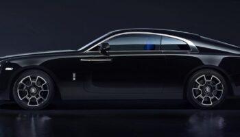 Бренд Rolls-Royce показал тизер автомобиля Ghost Black Badge