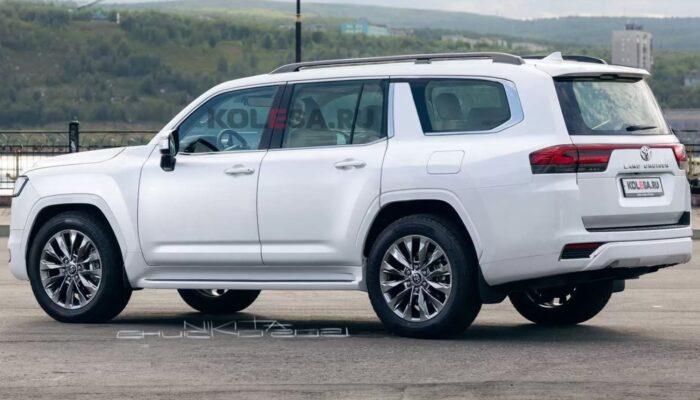 «Колеса.ру» показали изображения удлиненной версии внедорожника Toyota Land Cruiser 300